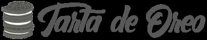 Logo tarta de Oreo